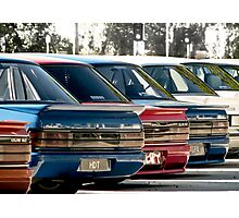 HDT Rear Spoilers Photographic Print