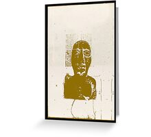 affiche-102 Greeting Card