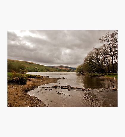 Looking Down Semer Water Photographic Print