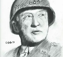 George Patton by Christopher Colletta