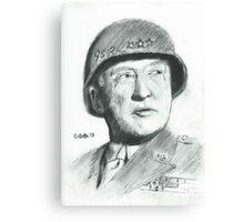 George Patton Canvas Print