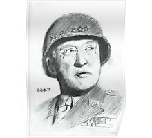 George Patton Poster