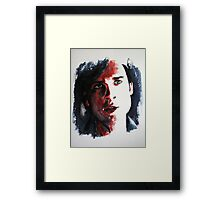 Rouge (Red-Tom Welling)featured in the Group , just Fun Framed Print