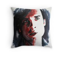 Rouge (Red-Tom Welling)featured in the Group , just Fun Throw Pillow