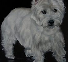 Reflections Of A Westie by Anne Zoutsos
