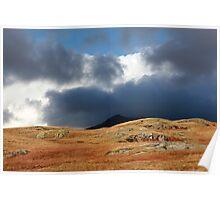 Eskdale Valley Near Hardknott Roman Fort, Cumbria Poster