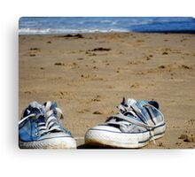 Gone For A Paddle Canvas Print