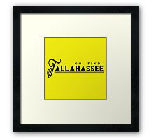 Go Find Tallahassee Framed Print