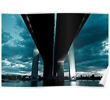 Bolte Bridge - Docklands Poster