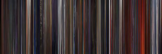 Moviebarcode: Star Wars: Episode III - Revenge of the Sith (2005) by moviebarcode