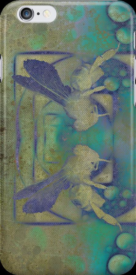 Wasp_I Phone Case by Diane Johnson-Mosley