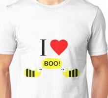 "I Love ""Boo"" Bees! Unisex T-Shirt"