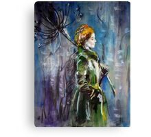 """Rainy day"" Canvas Print"