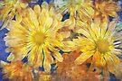 summer flower mosaic by Teresa Pople