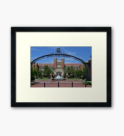Wescott Plaza Framed Print