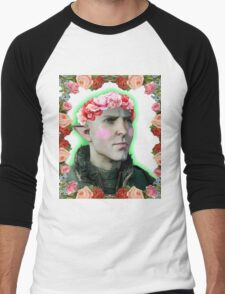 Solas - Flower Crown Men's Baseball ¾ T-Shirt