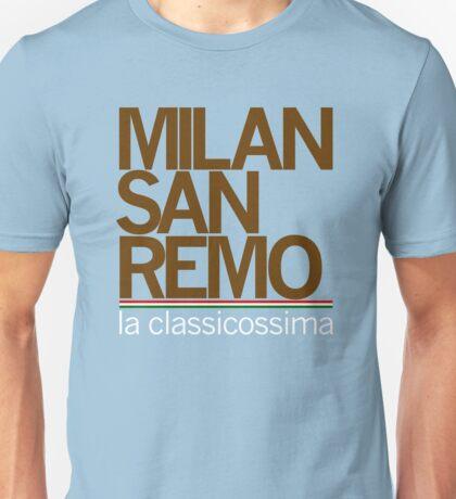 milan-san remo Unisex T-Shirt