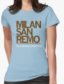 milan-san remo Womens Fitted T-Shirt