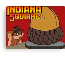 Indiana Squirrel Canvas Print