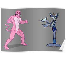 Pink Panthro Poster