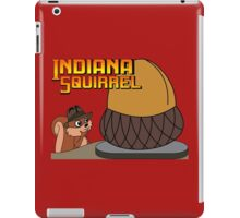Indiana Squirrel iPad Case/Skin