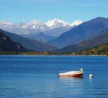 Maggiore Lake by Michiko Lawrence