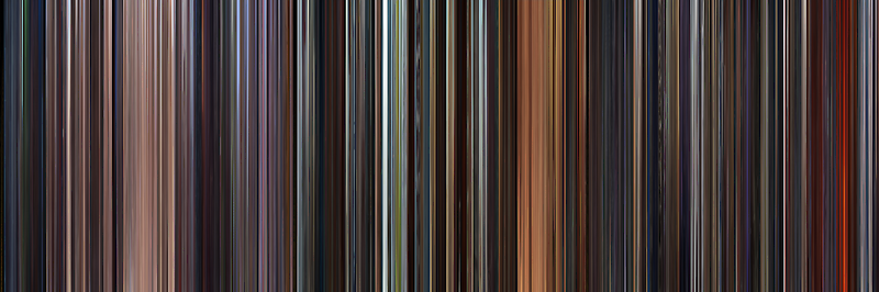 Moviebarcode: Star Wars: Prequel Trilogy (1999-2005) by moviebarcode