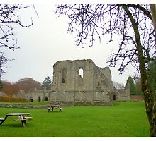 Buildwas Abbey Telford Shropshire. by Lawson Clout