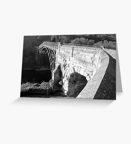 Ironbridge Telford Shropshire  Greeting Card