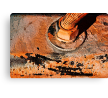 Orange Bolt Special Canvas Print