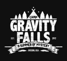 Camp Gravity Falls (worn look) Baby Tee