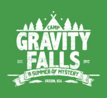 Camp Gravity Falls (worn look) Baby Tee