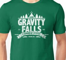 Camp Gravity Falls (worn look) Unisex T-Shirt