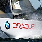 BMW Oracle America's Cup Winning Boat by John McNamara
