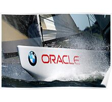 BMW Oracle America's Cup Winning Boat Poster