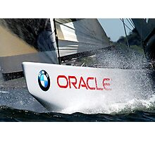 BMW Oracle America's Cup Winning Boat Photographic Print