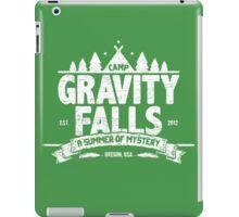 Camp Gravity Falls (worn look) iPad Case/Skin