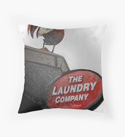 Frozen Chicken Throw Pillow