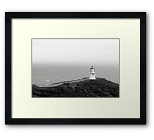 Cape Reinga, New Zealand Framed Print