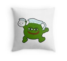 Kool Aid - Pepe Throw Pillow