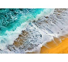 Waves abstract Photographic Print
