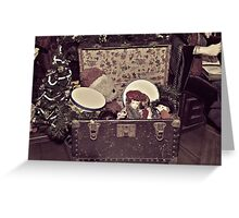Santa's Toy Chest Greeting Card