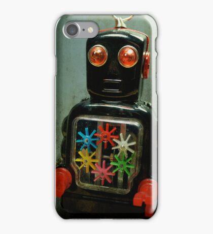 Mr. Sparkle Robot iPhone Case/Skin