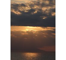Evening ambiance - Atardecer Photographic Print
