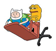 Adventure Time - Feels Time Photographic Print