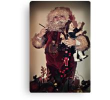 Sing For Santa Canvas Print