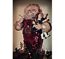 Sing For Santa Photographic Print