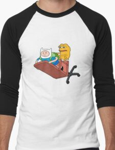 Adventure Time - Feels Time Men's Baseball ¾ T-Shirt