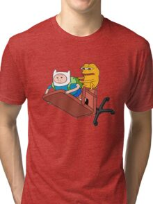 Adventure Time - Feels Time Tri-blend T-Shirt