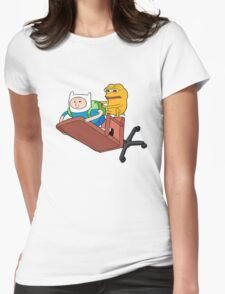 Adventure Time - Feels Time Womens Fitted T-Shirt